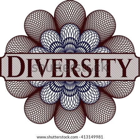 Diversity money style rosette