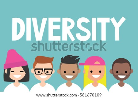diversity sign a group of