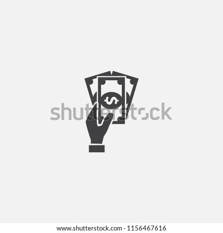 Dividends base icon. Simple sign illustration. Dividends symbol design from Accounting series. Can be used for web, print and mobile