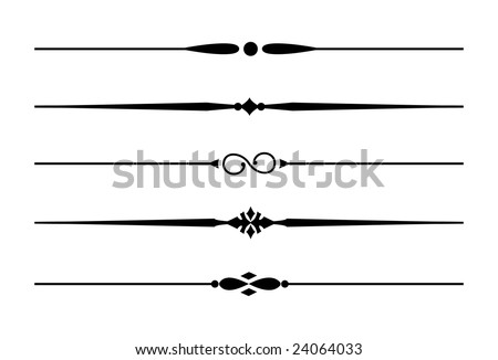 royalty free decorative lines elements for design 118892524