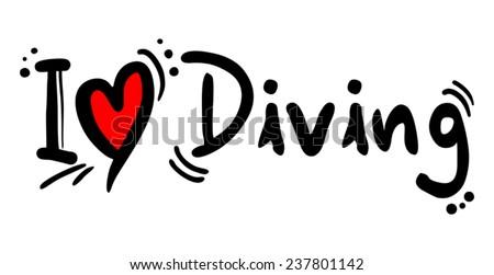 diving love