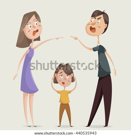 divorce family conflict