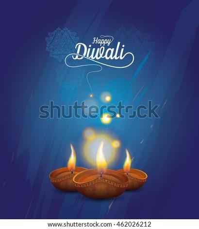 diwali festival design template