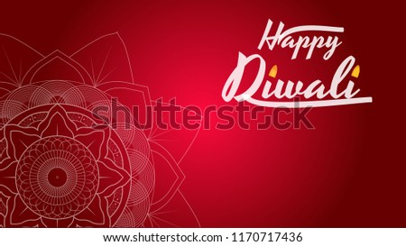 Shubh diwali festival greeting card download free vector art diwali festival greeting card flyer background template with mandala m4hsunfo