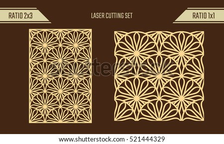 Laser Cut Pattern Vectors - Download Free Vector Art, Stock Graphics