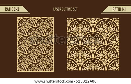 Free Vector Laser Cut Wood Coasters - Download Free Vector Art ...
