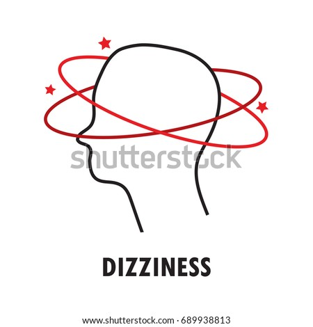 dizziness logo or icon