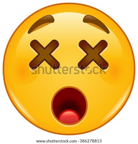 dizzy emoticon