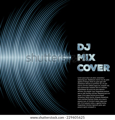 dj mix cover with music