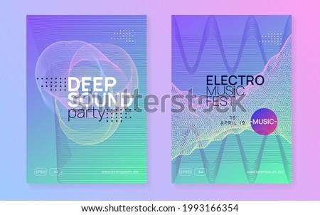 dj party energy show brochure