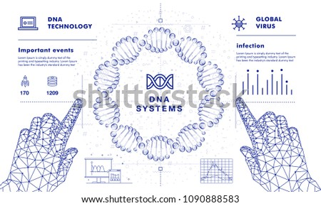 dna analysis on medical systems