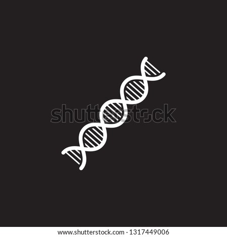 DNA icon. Simple element illustration. DNA symbol design from Pregnancy collection set. Can be used in web and mobile