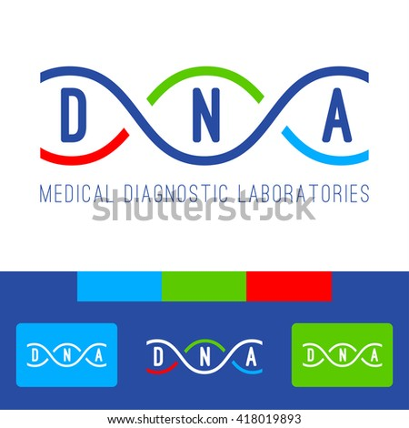 dna logo of medical clinic