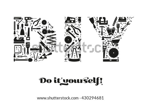 do it yourself lettering royalty free stock photos and images do it yourself 32813