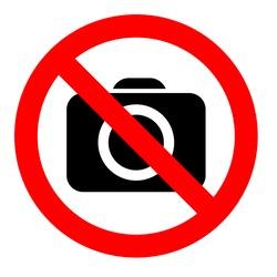 do not shoot sign, vector symbol