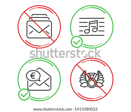 do or stop musical note  mail
