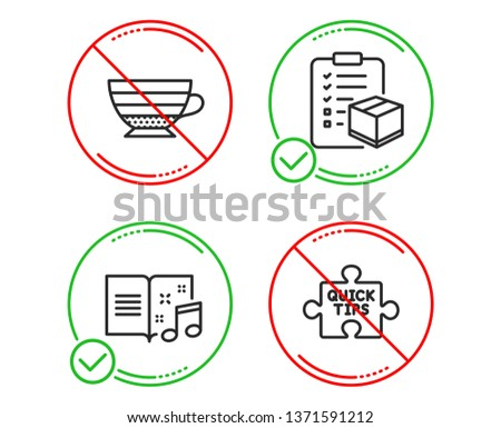 do or stop parcel checklist