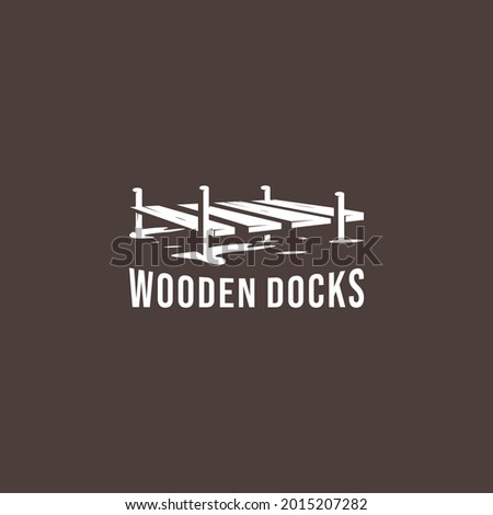 docks wooden bridge beach
