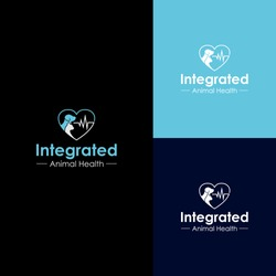doctor and animal health logo design premium