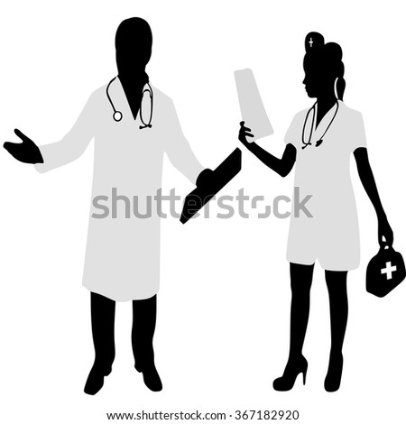 doctor and nurse discussing