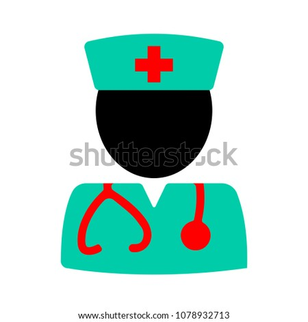 doctor assistant icon