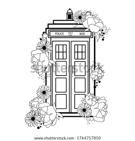 doctor who vector illustration