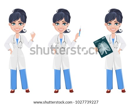 doctor woman  professional