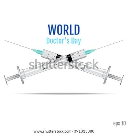 doctors day vector doctors day