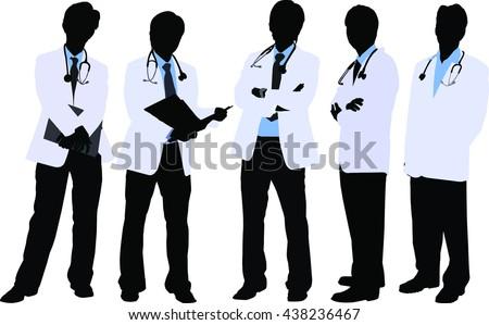 Doctors in Silhouette