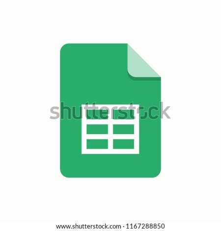 Document file icon, symbol, web. Vector illustration. EPS 10