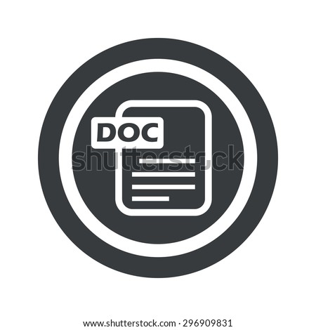 document page with text doc in
