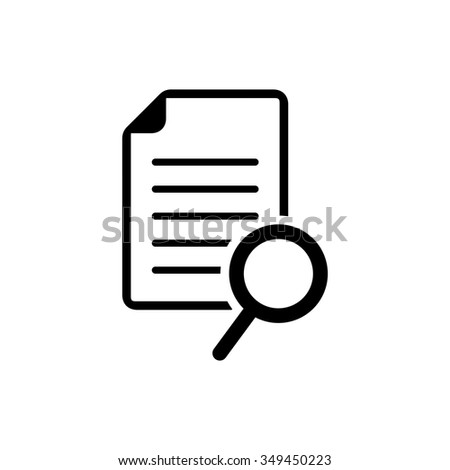 document with search icon