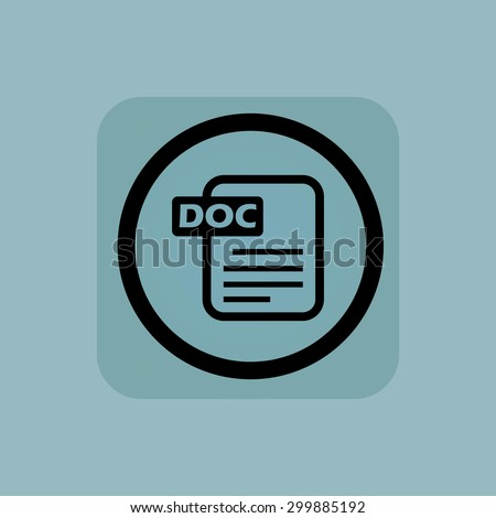 document with text doc in