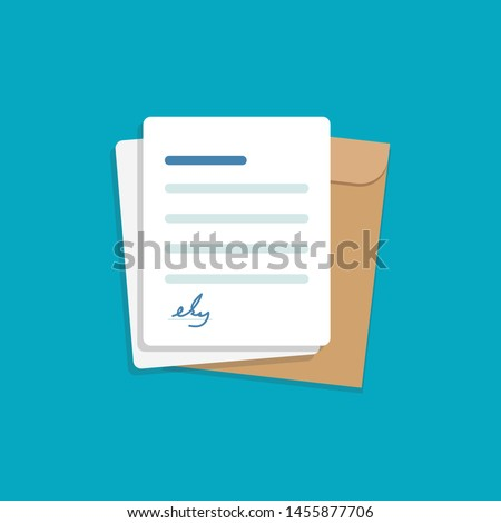 Documents and storage,Folder with Document