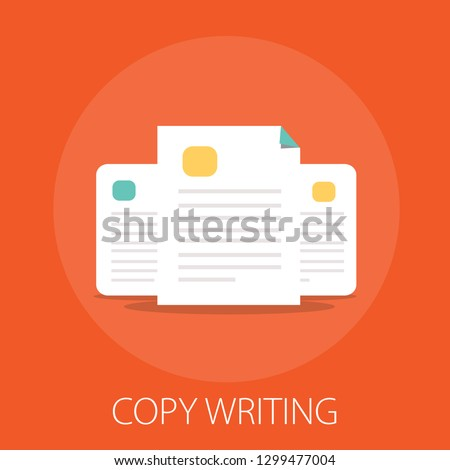 documents flat icon - vector copy documents Illustration isolated for graphic and web design with