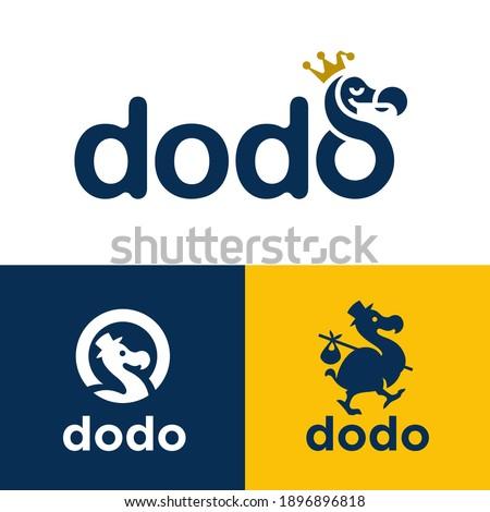 dodo bird logo icon concepts