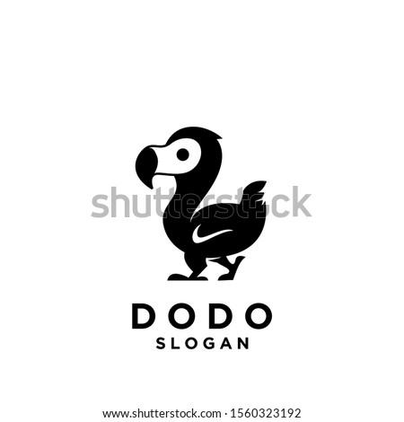 dodo bird logo icon design
