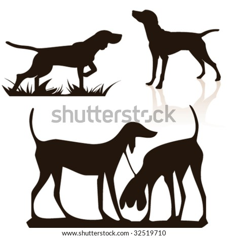 dog - stock vector