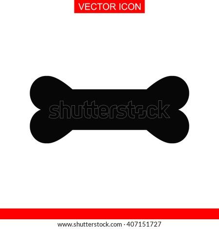 dog bone icon dog bone vector