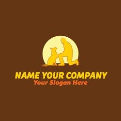 dog canine trainer logo designs