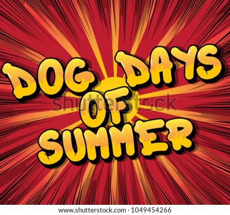 dog days of summer   comic book