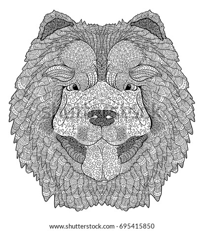 dog doodle coloring book