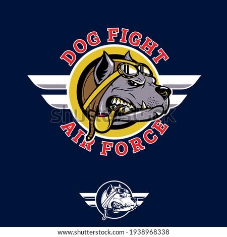 dog fight insignia pitbull