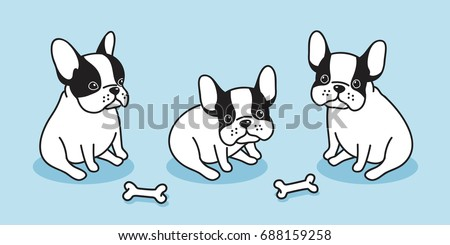 dog icon french bulldog
