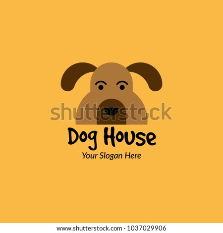 dog logo design template