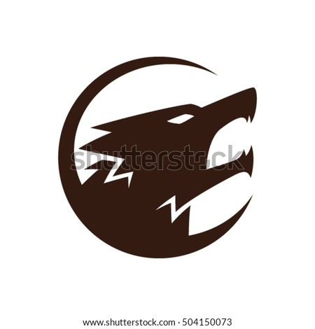 dog sign and symbol logo vector