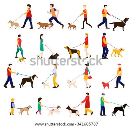 dog trainer men  women and