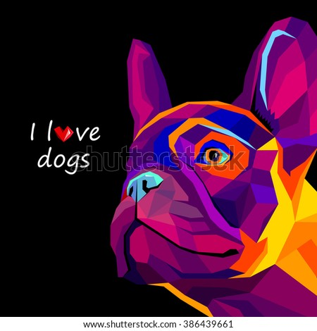 dog vector breed cute pet
