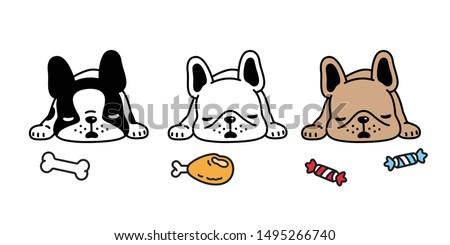 dog vector french bulldog
