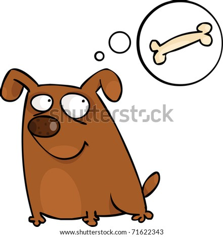 Doggy with speech bubble